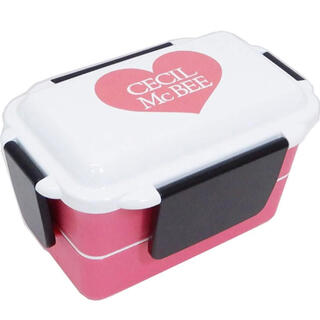 セシルマクビー(CECIL McBEE)のCECIL McBEE 2段ランチボックス(弁当用品)