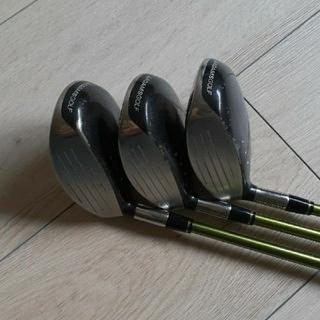 アダムスゴルフ(Adams Golf)のフェアウェイウッド3本(クラブ)
