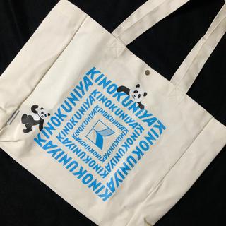 ケイタマルヤマ(KEITA MARUYAMA TOKYO PARIS)のKINOKUNIYAxケイタマルヤマ お買い物バック 新品未使用(トートバッグ)