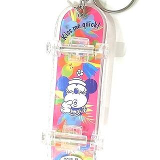 ディズニー(Disney)のミニースケートボードストラップ 送料無料300円(キーホルダー/ストラップ)