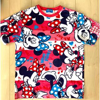 ディズニー(Disney)のディズニーリゾート*総柄Tシャツ(Tシャツ(半袖/袖なし))