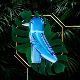 バカラ(Baccarat)の新品 未使用 プレゼント梱包付 バカラ 最新作 ファウナクリストポリス 青い鳥(置物)