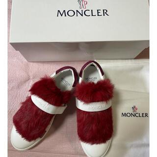 モンクレール(MONCLER)のMONCLER LUCIE スニーカー新品未使用品(スニーカー)