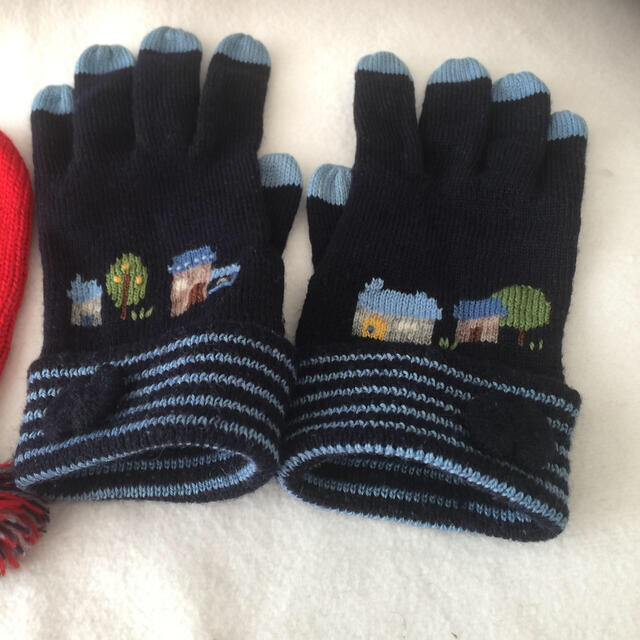 familiar(ファミリア)のファミリア  手袋とミトン キッズ/ベビー/マタニティのこども用ファッション小物(手袋)の商品写真