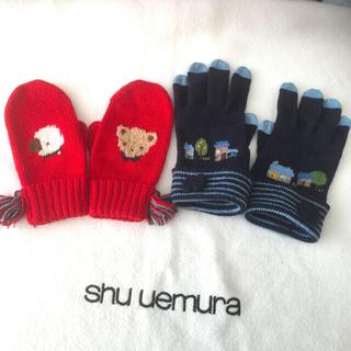 familiar - ファミリア  手袋とミトン
