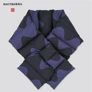 マリメッコ(marimekko)の[セット]UNIQLO marimekko パデットスカーフ&カットソー・ブルー(マフラー/ショール)