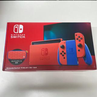 ニンテンドースイッチ(Nintendo Switch)の③Nintendo Switch マリオレッド×ブルー セット の一部 バラ売り(家庭用ゲーム機本体)