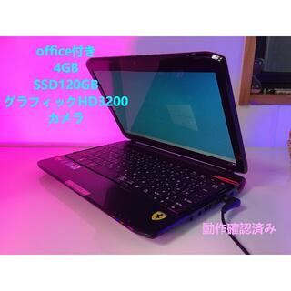 エイサー(Acer)のFerrari One FO200 11インチ acerノートパソコン レッド(ノートPC)