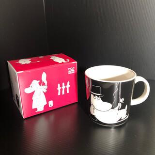 アラビア(ARABIA)のムーミンパパのマグカップ(グラス/カップ)