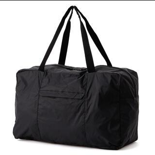 ムジルシリョウヒン(MUJI (無印良品))の無印良品 ♢パラグライダークロス撥水 ボストンバッグ 黒(ボストンバッグ)