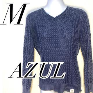 アズールバイマウジー(AZUL by moussy)のAZUL by moussy アズールバイマウジー ニットセーター コーデ(ニット/セーター)