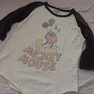 ジャンクフード(JUNK FOOD)のミッキー ラグランTシャツ(Tシャツ(長袖/七分))