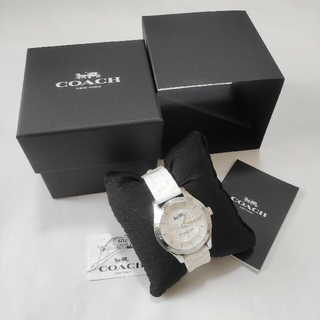 コーチ(COACH)の新品☆コーチ☆レディース ラバーストラップ ウォッチ(腕時計)