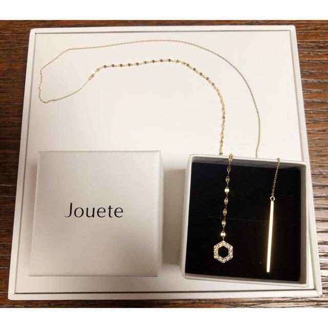 【期間限定値下箱有】2015 X'mas限定 Jouete ネックレス ゴールド レディースのアクセサリー(ネックレス)の商品写真