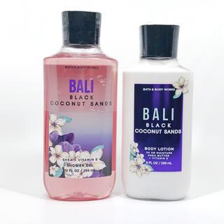 バスアンドボディーワークス(Bath & Body Works)のBBW Bali Black Coconut Sands 2点セット  (ボディローション/ミルク)