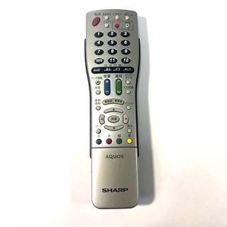 アクオス(AQUOS)の【電池付】SHARP テレビリモコン GA812WJSA(テレビ)
