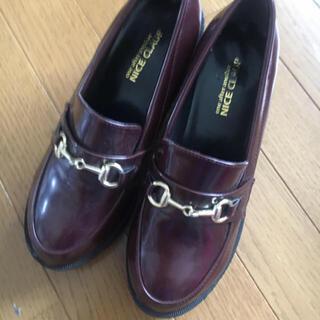 ナイスクラップ(NICE CLAUP)のナイスクラップ 厚底 ローファー(ローファー/革靴)