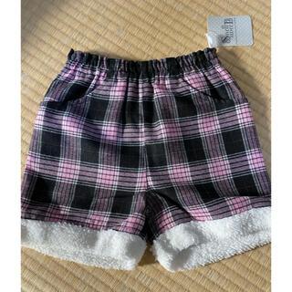 子供服 ショートパンツ チェック(パンツ/スパッツ)