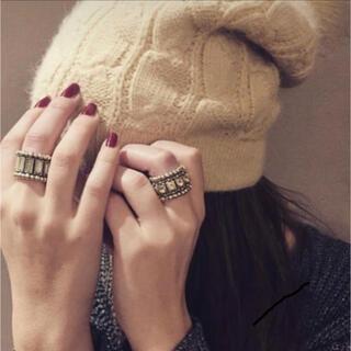 フィリップオーディベール(Philippe Audibert)の【☆本日のみお値下げ☆特価☆】フィリップオーディベール スワロフスキー リング(リング(指輪))