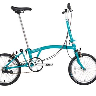 ブロンプトン(BROMPTON)の2021ブロンプトンB75 M3Eスカイブルー新品未使用 Brompton (自転車本体)