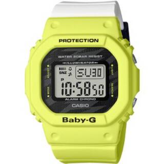 ベビージー(Baby-G)のCASIO BABY-G  BGD-560TG-9JF ライトニングイエロー(腕時計(デジタル))