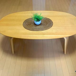 ムジルシリョウヒン(MUJI (無印良品))の無印良品 こたつ だ円形 幅約110cm(こたつ)
