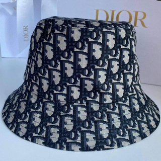 Dior - DIOR ハット ネイビー 新品未使用品