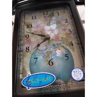 セイコー(SEIKO)の日本製【セイコー】オルゴール&マジックキーボックス付き置き時計◆クオーツ(置時計)