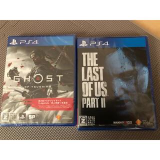 プレイステーション4(PlayStation4)のGhost of Tsushima The Last of Us Part II(家庭用ゲームソフト)