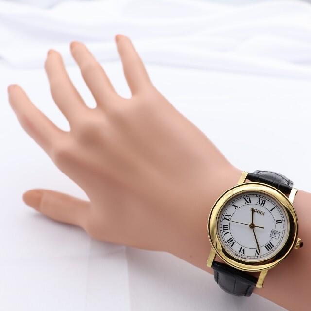 Gucci(グッチ)の正規品【新品電池】GUCCI 7200M/動作品 ヴィンテージ コイン メンズの時計(腕時計(アナログ))の商品写真