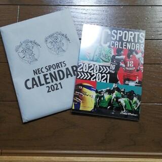 エヌイーシー(NEC)のNEC SPORTS  カレンダー(カレンダー/スケジュール)