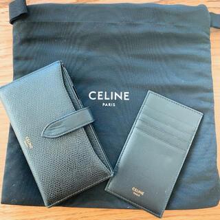 セリーヌ(celine)の【週末値下げ】セリーヌiPhone  X XS ケース 手帳型(iPhoneケース)