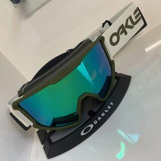 オークリー(Oakley)のOAKLEY LINE MINER XL 緑 FP限定 プリズムレンズ(アクセサリー)