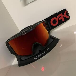オークリー(Oakley)のOAKLEY LINE MINER XL 黒 FP限定 プリズムレンズ(アクセサリー)
