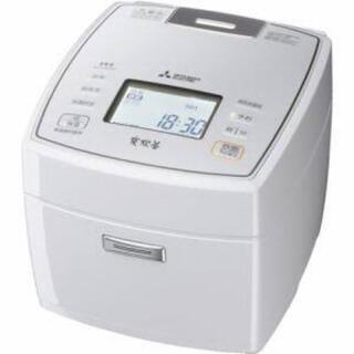 三菱 - 三菱 IHジャー炊飯器(5.5合炊き) ピュアホワイト NJ-VXA10-W
