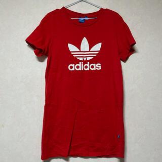 アディダス(adidas)のadidas ロングTシャツ(Tシャツ(半袖/袖なし))