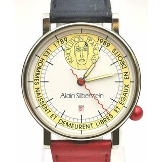 アランシルベスタイン(Alain Silberstein)のALAIN SILBERSTEIN アランシルベスタイン フランス革命 時計(腕時計(アナログ))