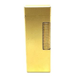 ダンヒル(Dunhill)のDunhill ダンヒル 喫煙具 ライター 小物 タバコ 葉巻 火 ゴールド(その他)