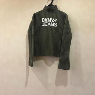 ダナキャランニューヨーク(DKNY)のDKNY⭐️ニット⭐️ カーキ⭐️(ニット/セーター)