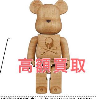 メディコムトイ(MEDICOM TOY)のBE@RBRICK カリモク mastermind JAPAN メープル杢(その他)
