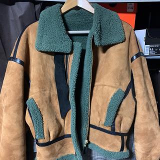 マメ(mame)のmamekurogouchi mouton jacket 希少サイズ4(ブルゾン)