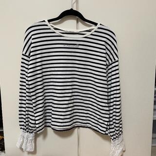 ナイスクラップ(NICE CLAUP)のナイスクラップ ボーダーロンT(Tシャツ(長袖/七分))