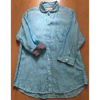 シマムラ(しまむら)のしまむら メンズ麻七分袖シャツ L L(シャツ)