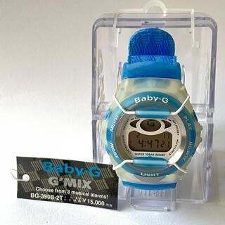 ベビージー(Baby-G)の【未使用】CASIO Baby-G  G'MIX BG-390B-2T 腕時計(腕時計)