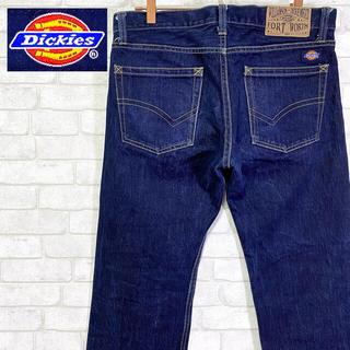 ディッキーズ(Dickies)のDickies ディッキーズ  濃紺 デニムパンツ ストレート W32(デニム/ジーンズ)