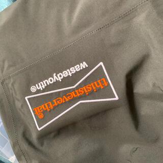 ジーディーシー(GDC)のthisisneverthat×wasted youth pants(ワークパンツ/カーゴパンツ)