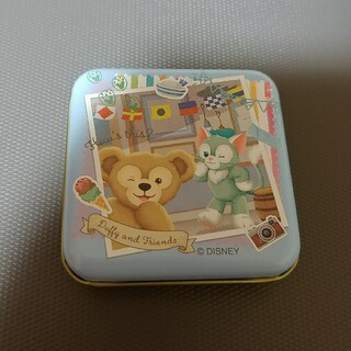 ダッフィー(ダッフィー)のダッフィーフレンズ ダッフィー&ジェラトーニ キャンディー缶(キャラクターグッズ)