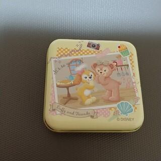 ディズニー(Disney)のダッフィーフレンズ シェリーメイ&クッキーアン キャンディー缶(キャラクターグッズ)