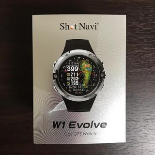 【新品•送料無料】ショットナビエボルブ W1 Evolve BK SN-EV-B(その他)