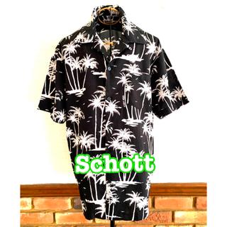 ショット(schott)の◆SchottショットHAWAIIAN ハワイアン ビンテージ アロハ シャツ(シャツ)